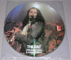 Cult , The - Interview Disc Limited Edition (1986) LP picture disc